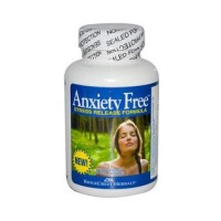 Ridgecrest herbals anxiety free stress relief formula vegetarian capsules -  60 ea