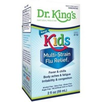 Dr.Kings Natural Medicine homeopathic  kids multi-strain flu relief - 2 oz