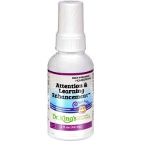 King bio homeopathic attention and learning enhancement - 2 oz