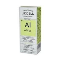 Liddell homeopathic oral allergy spray - 1 oz