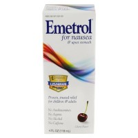 Emetrol nausea & upset stomach, relief liquid cherry flavor - 4 oz