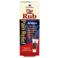 Natrabio arnica rub homeopathic pain relief cream - 2 oz