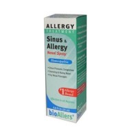 Bioallers allergy treatment sinus and allergy nasal spray - 0.8 oz