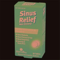 Natrabio botanical labs sinus relief - 60 ea