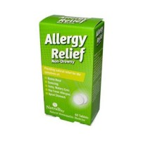 Natrabio allergy relief nondrowsy tablets - 60 ea
