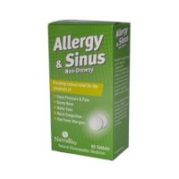Natrabio allergy and sinus nondrowsy tablets - 60 ea
