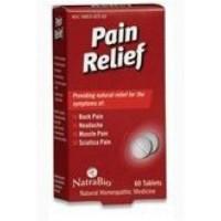 Natrabio pain relief tablets - 60 ea