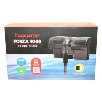 Aquatop Aquatic Supplies forza power filter with skimmer - 80 gallon, 4 ea