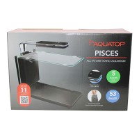 Aquatop Aquatic Supplies pisces all in one nano aquarium - 5 gallon, 2 ea