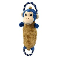 Charming Pet Products rip 'ems monkey dog toy - large/18 inch, 24 ea