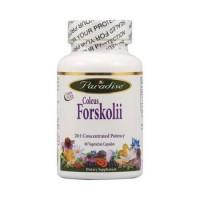 Paradise herbs coleus forskolii vegetarian capsules - 60 ea