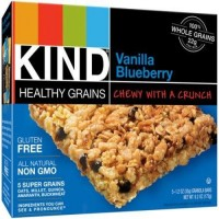 Kind healthy grains bars blue berry  - 1.2 oz, 5 ea ,8 pack