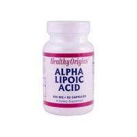 Healthy originslpha lipoic acid  600 mg capsules - 60 ea