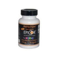 Healthy origins epicor for kids  125 mg capsules - 60 ea