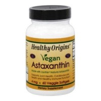 Healthy origins vegan astaxanthin 4 mg - 60 ea