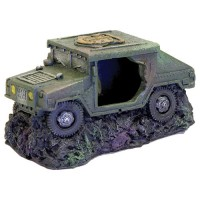 Blue Ribbon Pet Products exotic environments humvee with cave - 48 ea