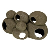 Blue Ribbon Pet Products exotic environments swim-through stone pile - large, 6 ea