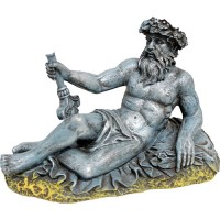 Blue Ribbon Pet Products exotic environments neptune statue - small, 12 ea
