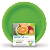 Preserve 7 small on the go plates pack of 12 - 10 ea