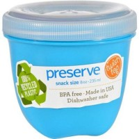 Preserve food storage container - 8 Oz. ,12 pack