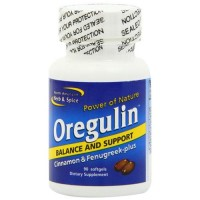 North american herb and spice oregulin gel capsules  - 90 ea
