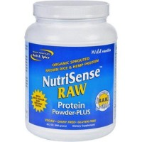 North american herb and spice protein powder  nutrisense raw plus - 28.2 oz