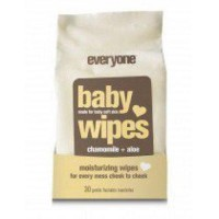 Baby wipes unscented eo container - 30 ea