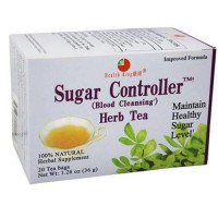 Health king sugar controller blood cleansing herb tea bags - 20 ea