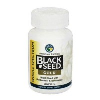 Amazing herbs black seed gold - 60 ea