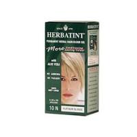 Herbatint permanent herbal haircolour gel 10n platinum blonde - 135 ml