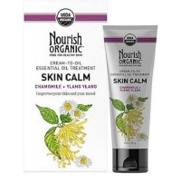 Nourish organic essential oil treatment skin calm chamomile ylang ylang - 2 oz