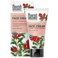 Nourish Organic Face Cream - Ultra Hydrating Argan And Pomegranate - 1.7 Oz