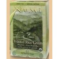 Tea toasted rice green numi teas - 16 Bag ,6 pack