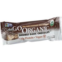 Nugo nutrition bar organic double dark chocolate - 1.76 oz, 12 pack