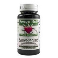 Kroeger Herb Ashwagandha Complete Concentrate  - 60 Veg Capsules