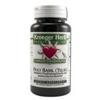 Kroeger herb holy basil complete concentrate vegetarian capsules - 90 ea