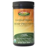 Manitoba harvest organic hemp pro fiber protein powder - 16 oz