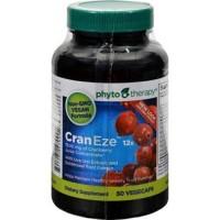 Phyto therapy cran eze vegetarian capsules - 50 ea