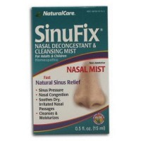 Natural care sinufix mist nasal decongestantnd cleansing mist - 0.5 Oz