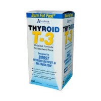 Absolute nutrition thyroid t 3 - 180 Capsules
