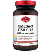 Olympian labs omega 3 fish oils softgels - 120 ea