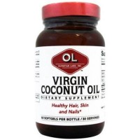Olympian labs virgin coconut oil dietary supplement - 60 ea