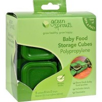 Green sprouts polypropylene baby food storage cubes - 1 ea