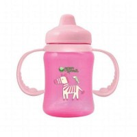 Green sprouts sippy cup non spill pink - 1 ea