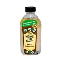 Monoi tiare tahiti santal sandalwood coconut oil - 4 oz