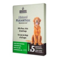 Natural Chemistry 11260 Flea and Tick Squeeze On for Large Dogs, 50 lb - 25 ml