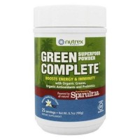 Nutrex hawaii green complete superfood powder natural vanilla bean - 6.7 oz.