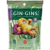 Gin Gins double strength hard ginger candy - 3 oz,11 pack