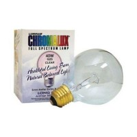 Chromalux light bulb golbe clear - 40W Bulb