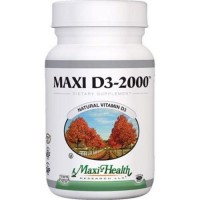 Maxi health kosher vitamins maxi d3 2000 iu tablets - 90 ea